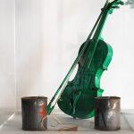 Joseph Beuys, Telefon & Henning Christiansen, grüne Geige