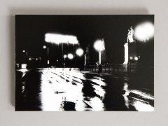 Berlin - Schlossbrücke, mimitiert und handgefertig, Material: C-Print, Aludibond, Größe: 16 x 23 cm, Auflage 22, Preis: 100€